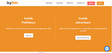 IcyAds Advertisers Review 2021- CPM Rate, Details Features, Expected ROI, Traffic Locations