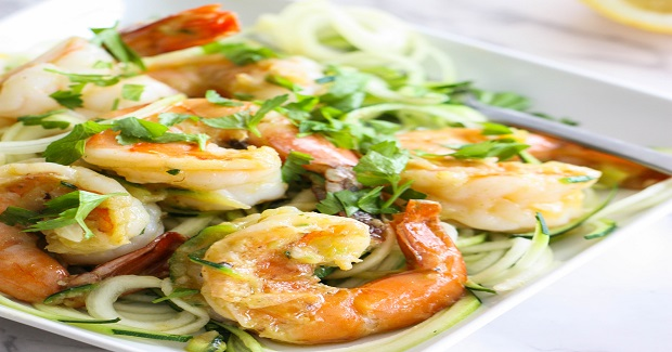 Shrimp Scampi Zoodles Recipe
