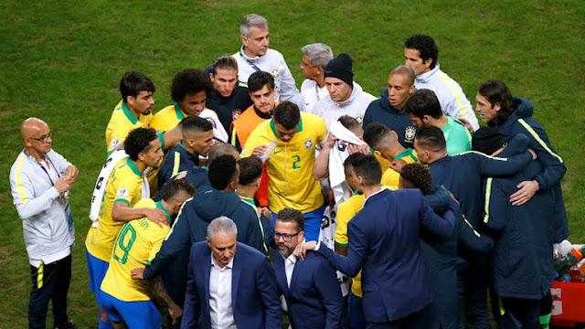 Brazil vs Paraguay Copa America quarter-finals