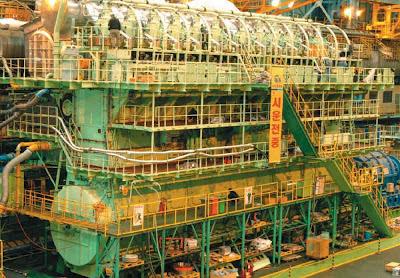 Wärtsilä RT-flex96C - maior motor do mundo