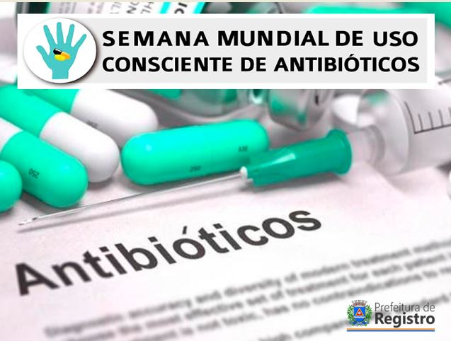 Semana Mundial de Uso Consciente de Antibióticos