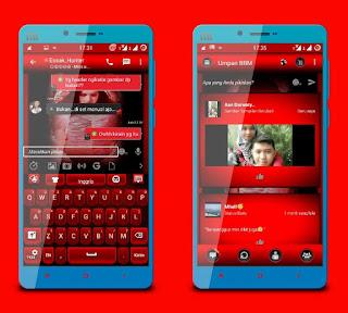 BBM MOD Red Angel v2.12.0.9 APK