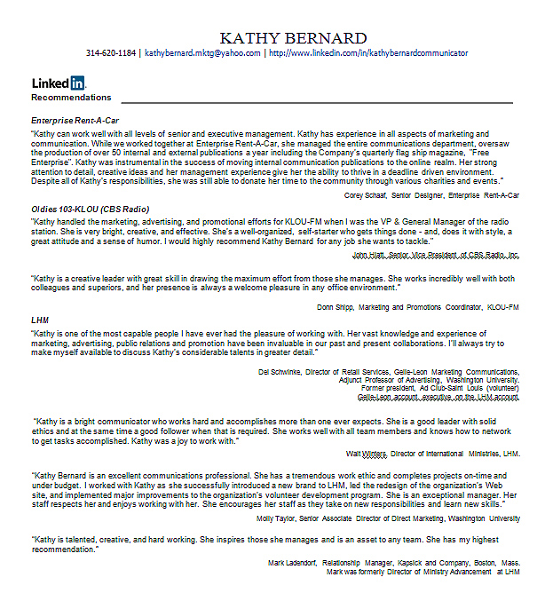 how to add letter of recommendation to linkedin