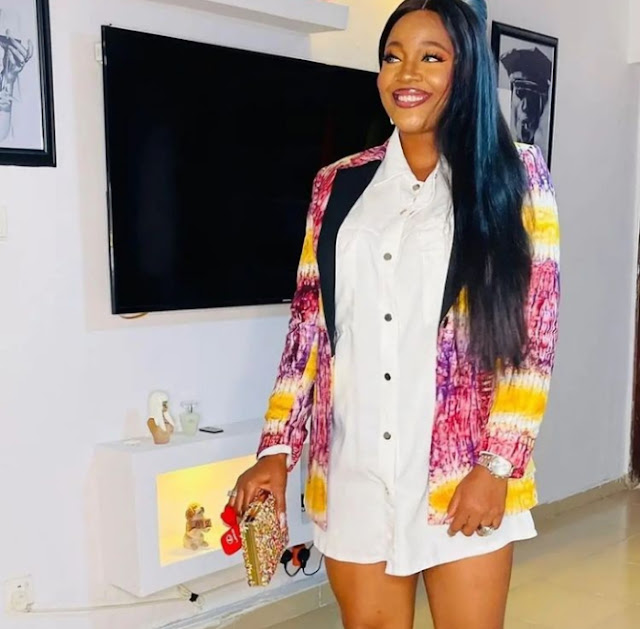 Check out the Outfits of Celebrities as they rocked Mercy Eke Birthday party (Photos)