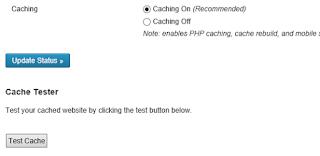 Cara setting WP Super Cache - WPSuperCache - Setup2