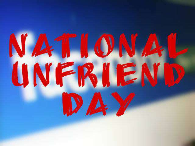 National Unfriend Day Wishes Photos