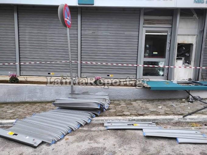 Άντε πάλι τα ίδια - Ανατίναξαν το ΑΤΜ της Εθνικής Τράπεζας στις Ερυθρές