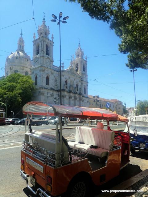 cómo visitar Lisboa sin andar