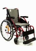Ergo 125 wheelchair