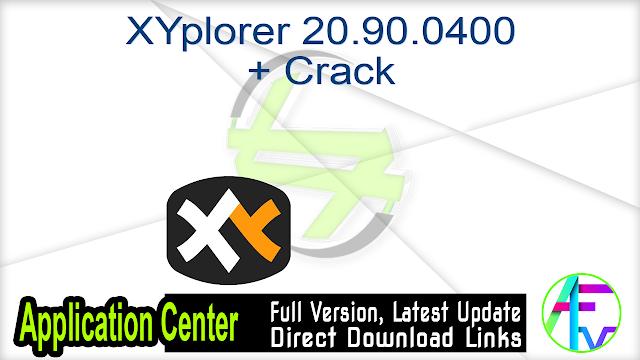 XYplorer 20.90.0400 + Crack