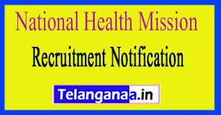 National Rural Health Mission NRHM Chandigarh  Recruitment Notification 2017