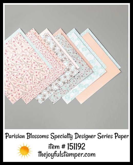 Parisian Blossoms Specialty Designer Series Paper | item 151192 | Stampin' Up! 2020 Mini Catalog