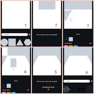 tutorial ilustrasi canva cara membuat sudut ruang