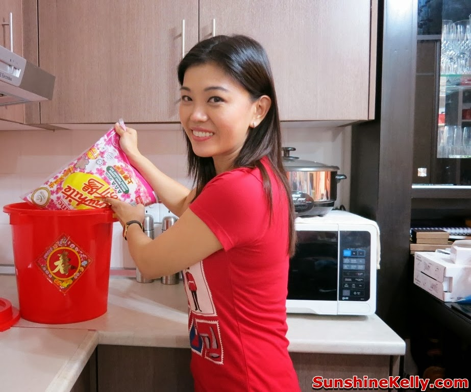 Chinese New Year Preparation & Checklist, jasmine sunwhite rice, rice, cny rice, chinese new year, cny, checklist, groceries, mandarin oranges, rice bucket, jusco groceries, food, rice bucket, fragrant rice, bernas