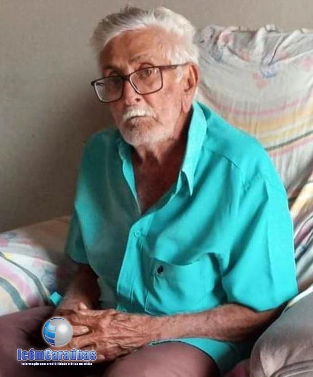 Seu Antônio Guedes, morre aos 87 anos no Hospital Regional de Caraúbas