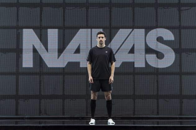 Jesús Navas en la nueva campaña de New Balance