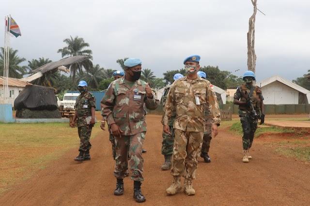 Komandan FIB MONUSCO Apresiasi Kinerja Satgas Kizi Konga XX-Q