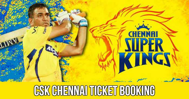 Chennai Super Kings Ticket Booking MCAS, Pune Cost and Price List IPL 2018
