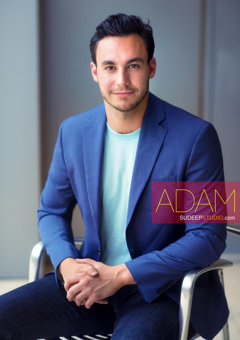 Professional Headshots Adam Molnar - Sudeep Studio.com Ann Arbor Photographer