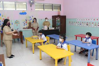 Kegiatan PTMT TK Kristen Kalam Kudus Surakarta