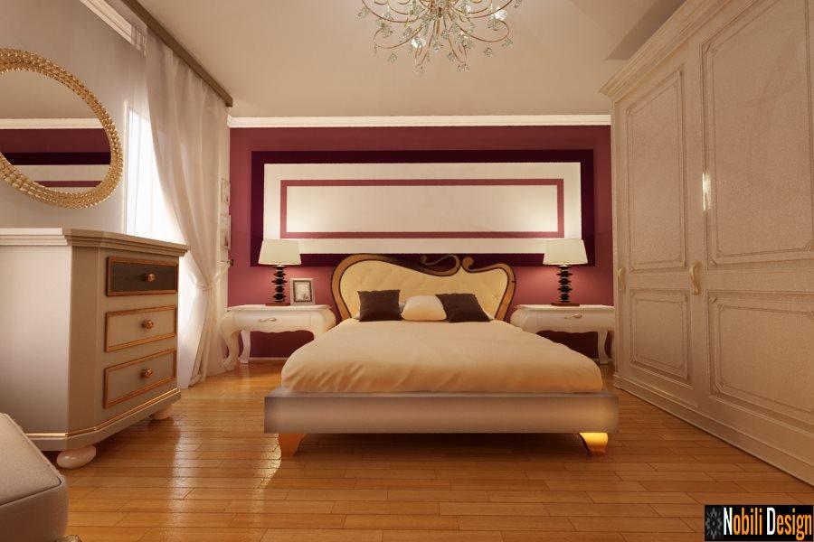 Design interior dormitor clasic si modern - Design interior vila clasica Brasov