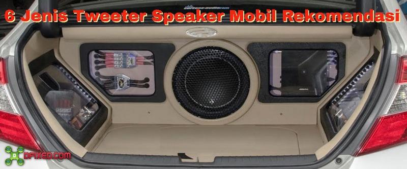 6 Tweeter Speaker Mobil Rekomendasi Polk Audio Sampai JBL