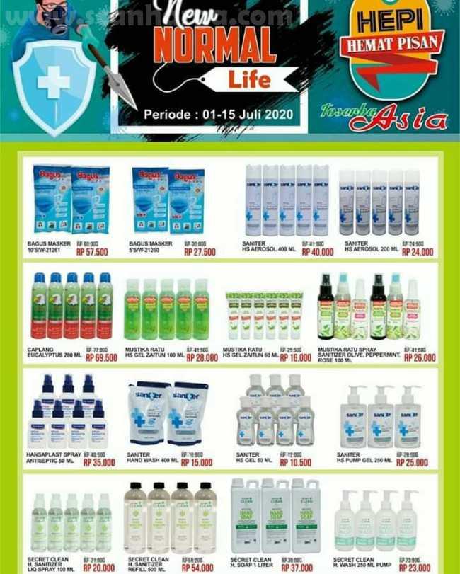 Katalog Promo ASIA TOSERBA Terbaru Periode 1 - 15 Juli 2020 1