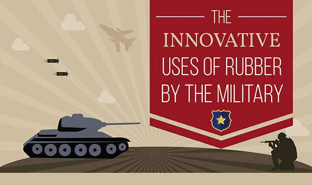 The Innovative Uses of Rubber by the Military