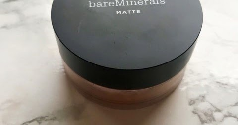 MARCH LOW BUY | THE ONLY THING I BOUGHT LAST MONTH BARE MINERALS MATTE MINERAL FOUNDATION