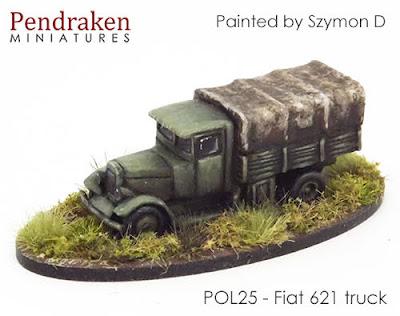 POL25 Fiat 621 truck