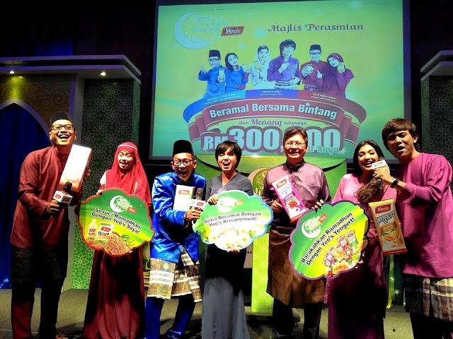Yeo's : Beramal Bersama Bintang Dan Menang Duit Raya