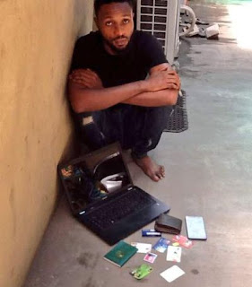 Another yahoo boy arrested for defrauding Money Transfer recipient of N1.25m in Lagos State