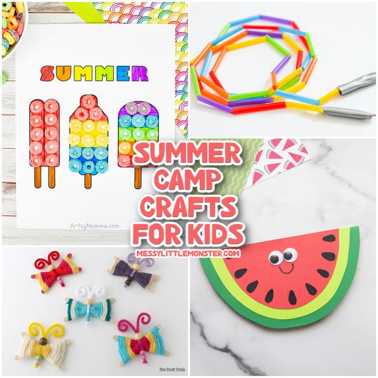 Best Summer Camp Crafts for Kids