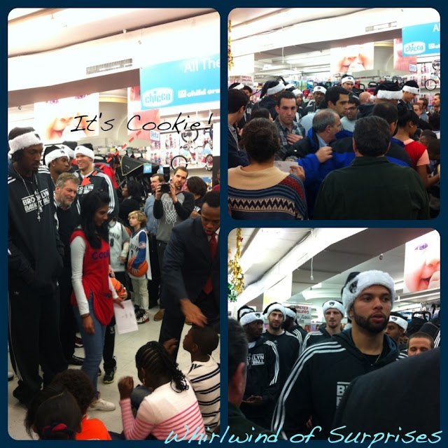 Brooklyn Nets at #CookiesKids, Deron Williams, Gerald Wallace, Cookie Falsek