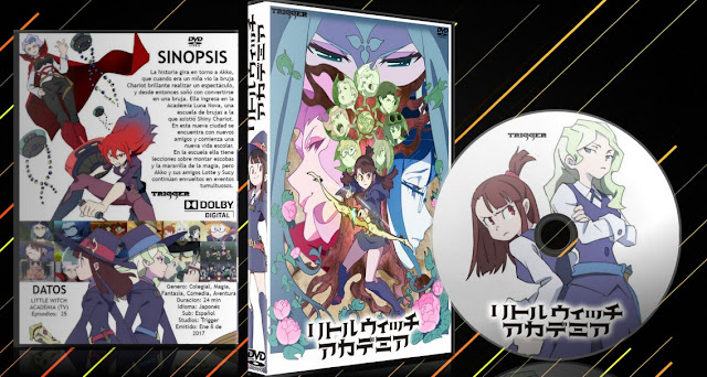 Little Witch Academia (TV) Vol.2 | Cover DVD |