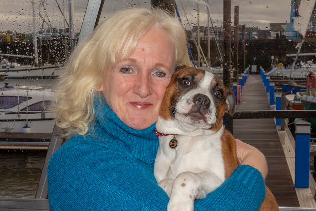 Phil's photo of me and Ruby on Ravensdale