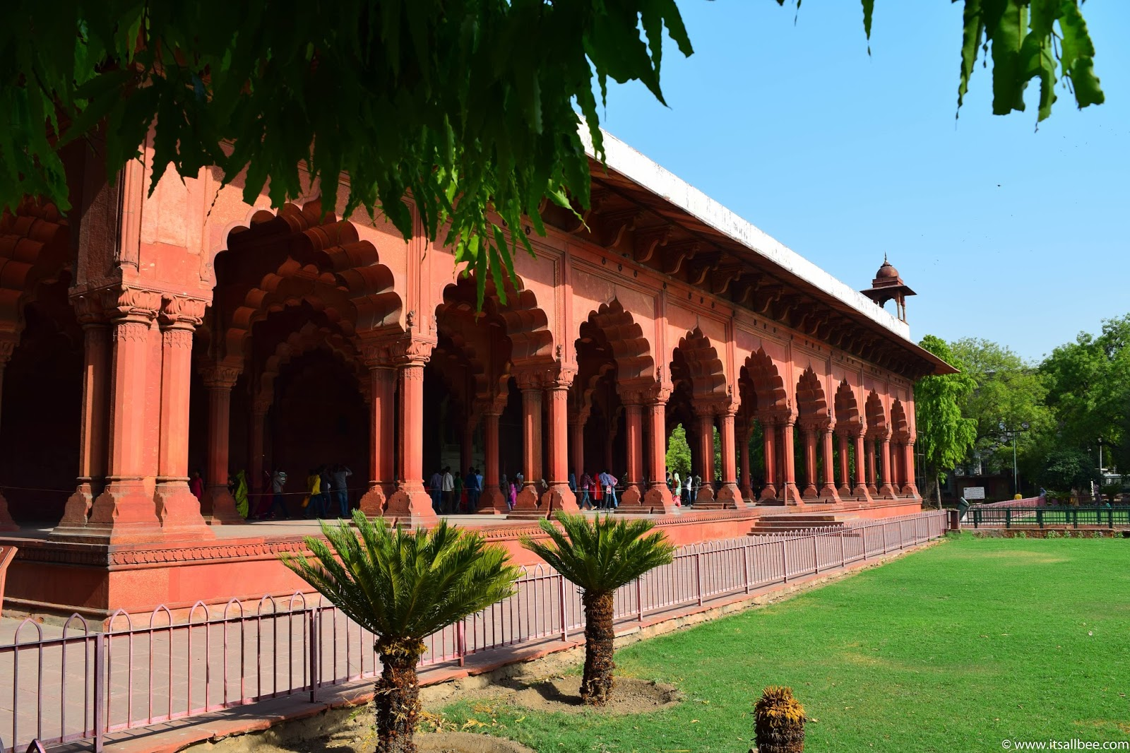 India - places to visit in New Delhi - The Red Fort