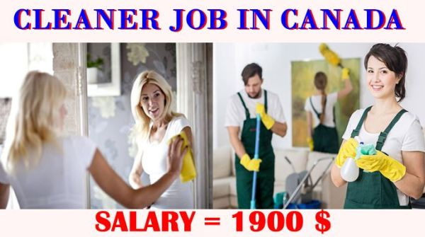 Cleaners Needed Urgently in Canada - Apply Now With Free Visa