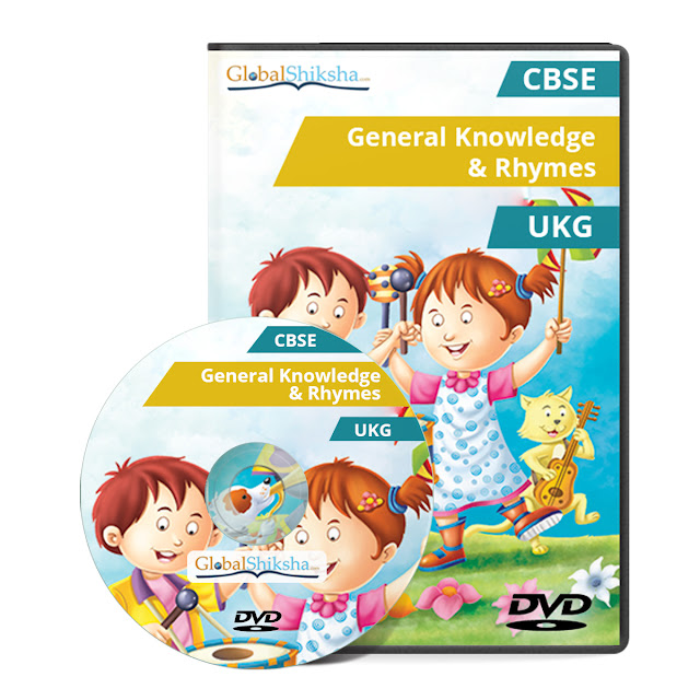Animated Educational DVD-ROM for KG