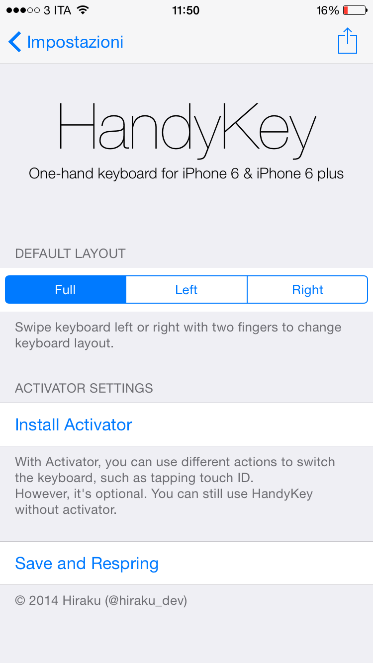 how to change keyboard on iphone cydia unlocks change iphone keyboard size using handykey 18627
