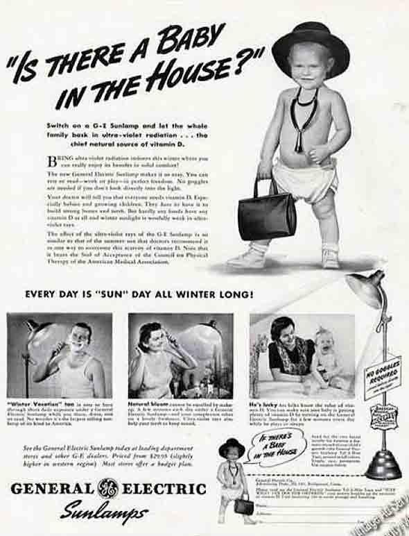 Creepy Vintage Ads Featuring Children ~ Vintage Everyday