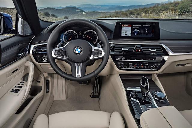 BMW Série 5 Touring - interior