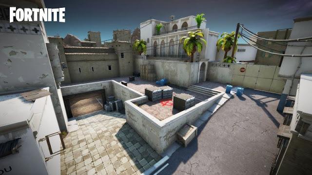 Counter-Strike's Dust 2, Fortnite'da Yeniden Canlandı!