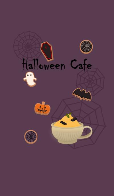 Halloween cafe + grape [os]