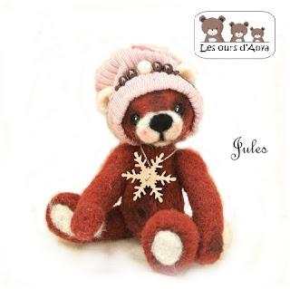Ours brun de décoration les ours d'Anya