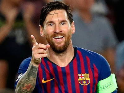Messi hits a hat-trick as Barcelona thrashed PSV
