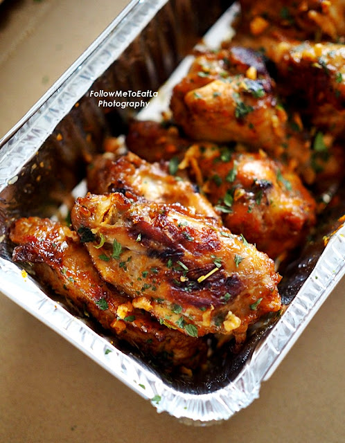Spicy Fling Chicken Wings  RM14.90