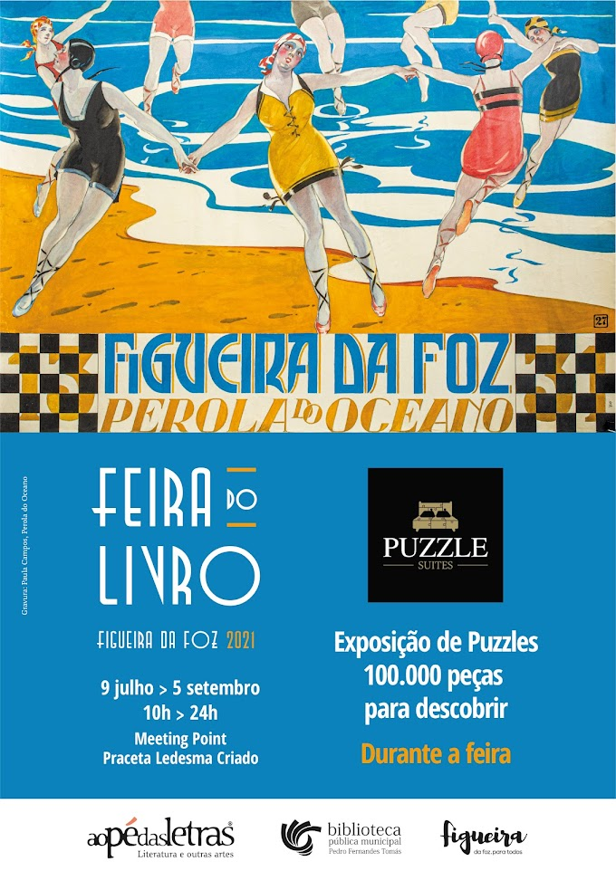 """Exposição de puzzles """"100.000 peças para descobrir"""" na Feira do Livro"""