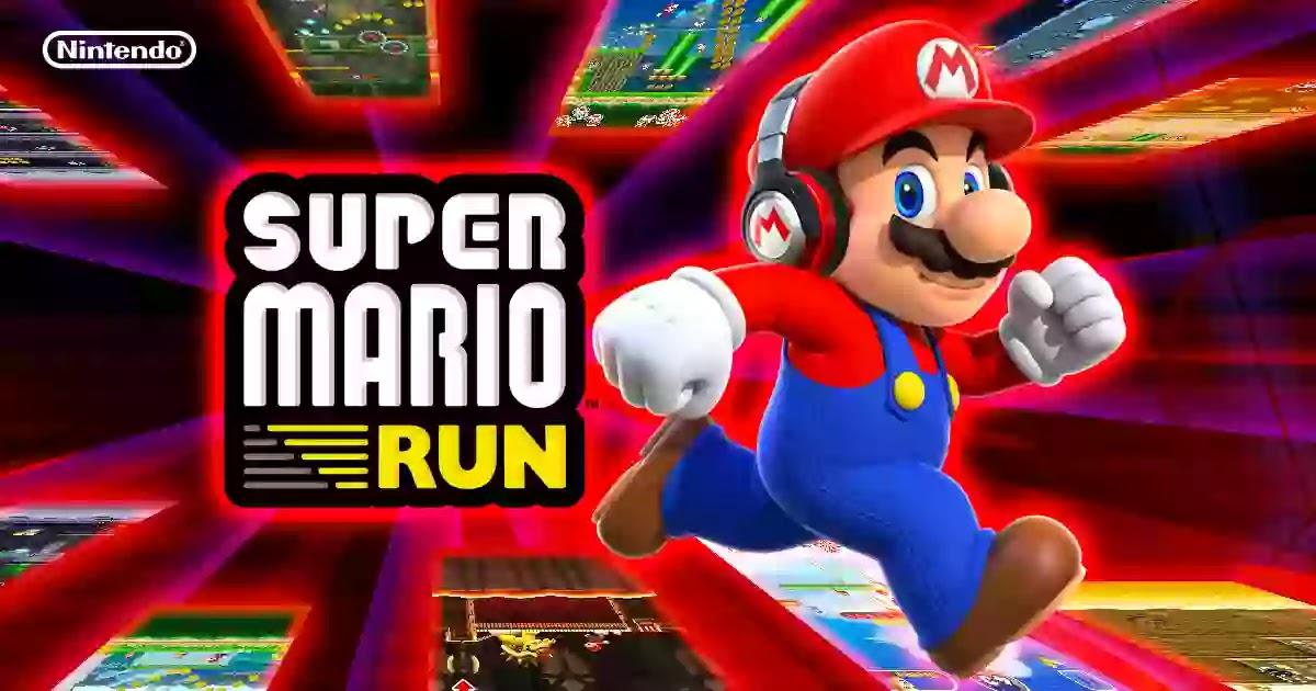 نوع جديد من لعبة ماريو يمكنك لعبها بيد واحدة.Super Mario Run