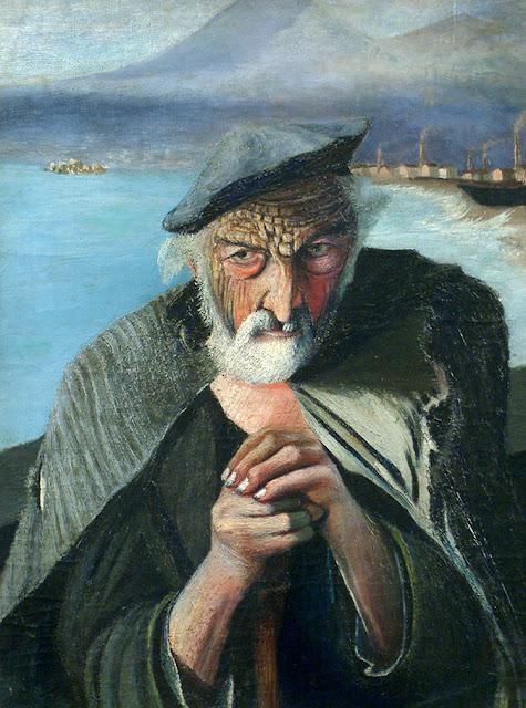 """Mensagem Oculta no quadro """"O Velho Pescador"""""""